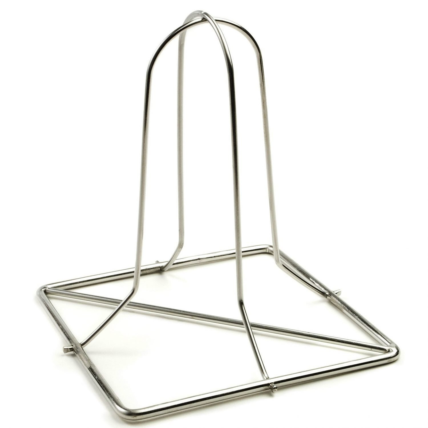 ollapsible beer can chicken stand