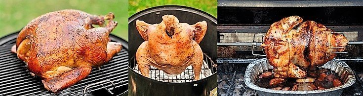 how to grill a whole turkey cover photo