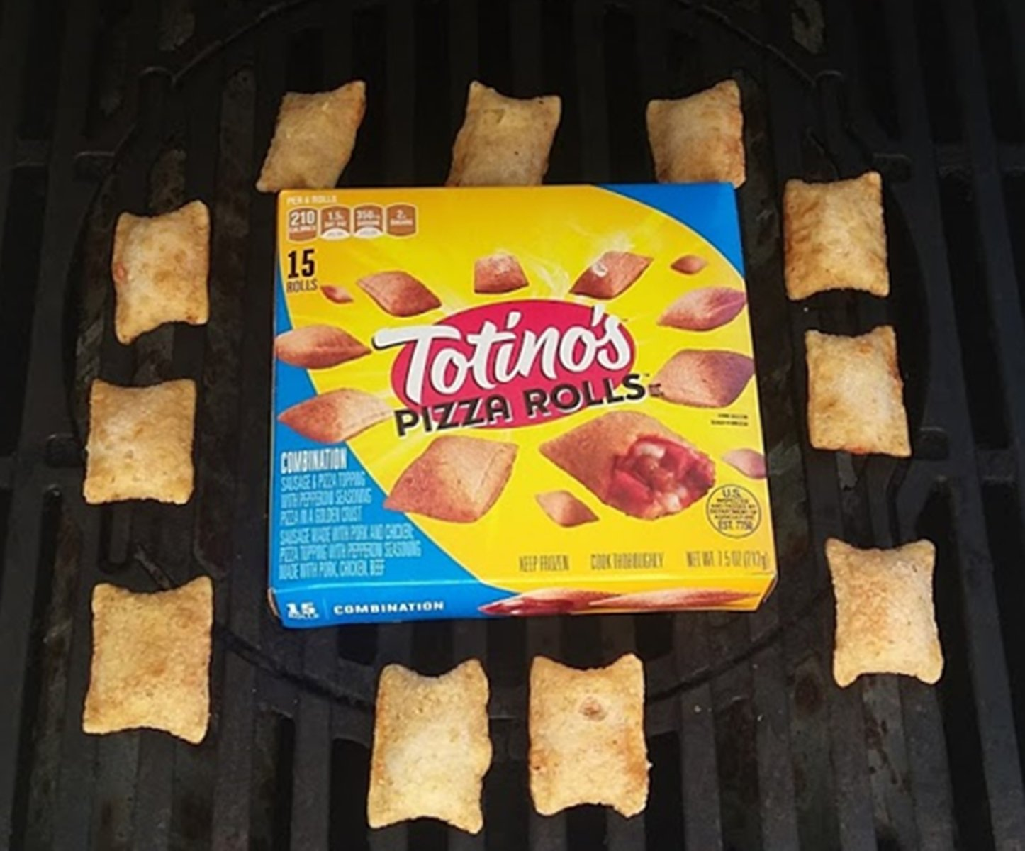 How to Grill Totinos Pizza Rolls