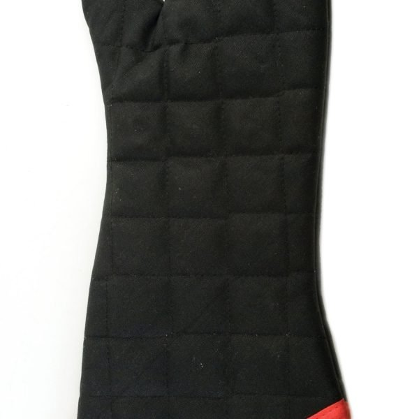 Flame Resistant Barbecue Mitt Charcoal Companion
