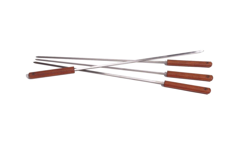 Wood handle kabob skewers 4