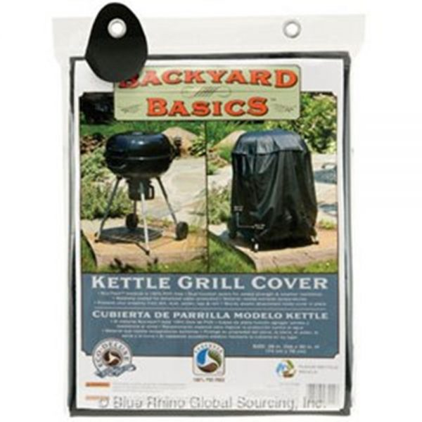 Charcoal Kettle grill cover black
