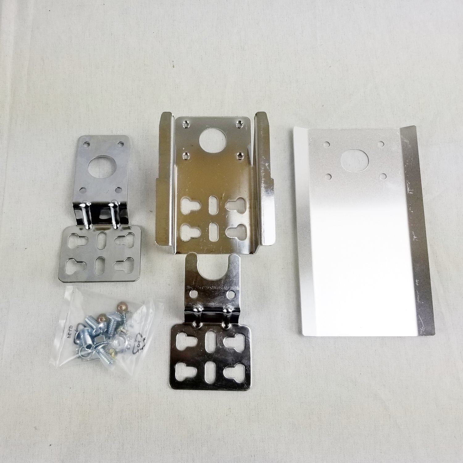 Stainless Steel Rotisserie Mounting Brackets OneGrill