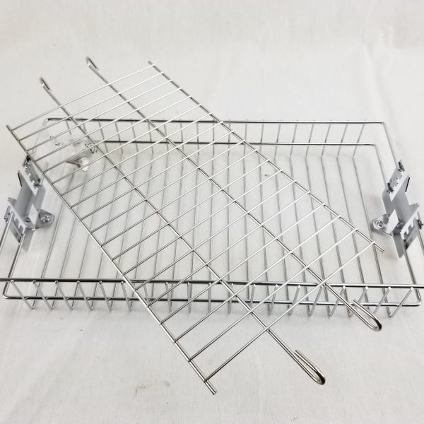 Flat Rotisserie Basket 14 x 7.5 inches OneGrill