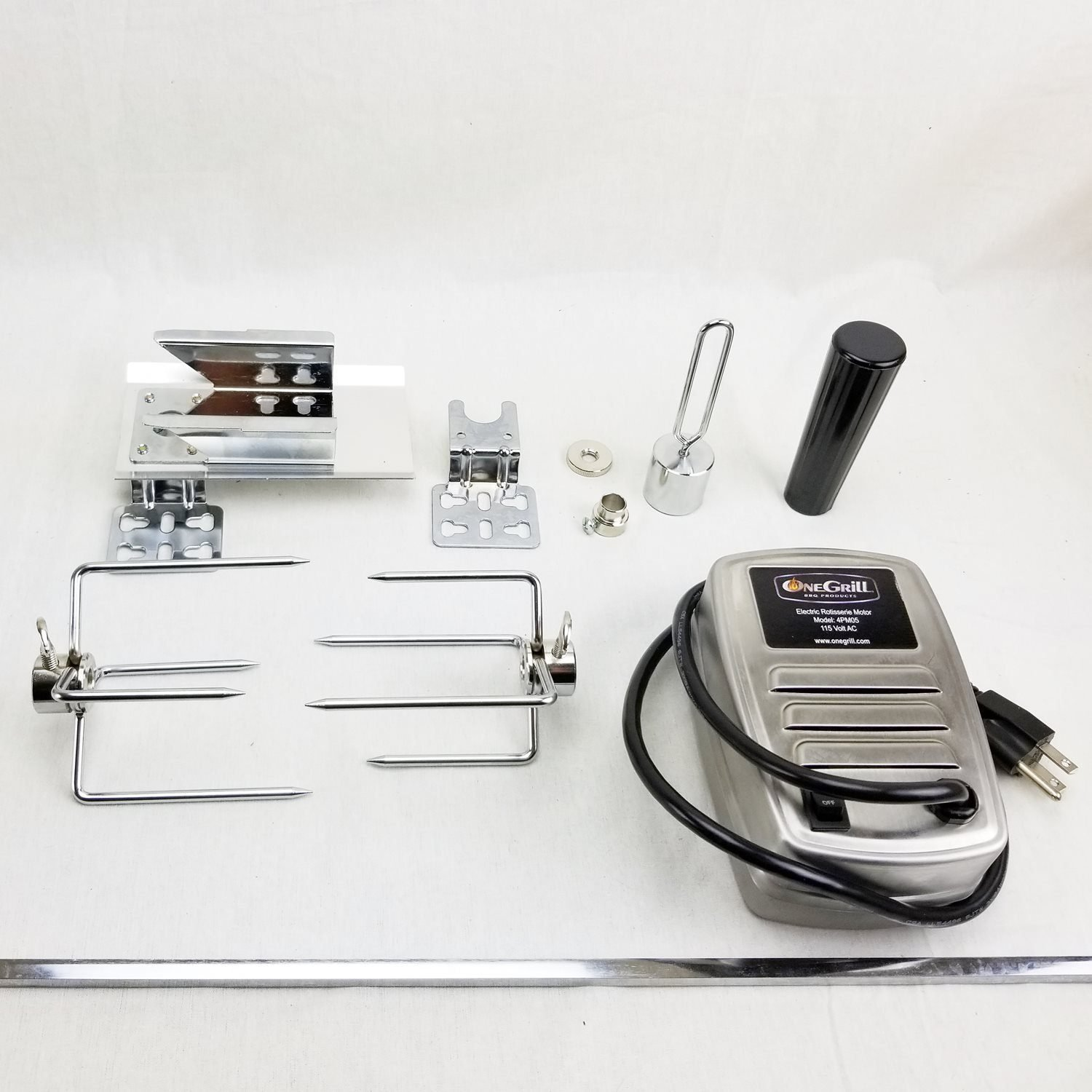 onegrill small rotisserie kit