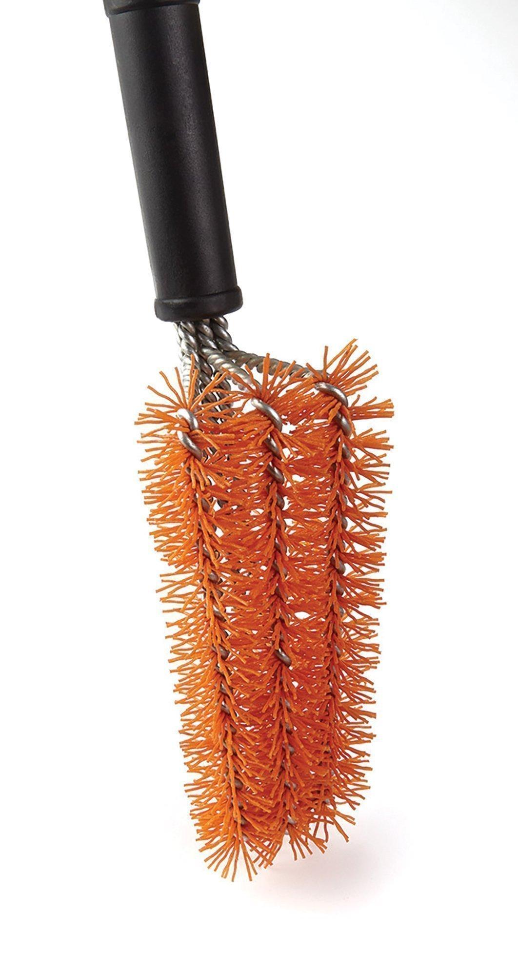 Nylon Bristle Grill Brush head close up