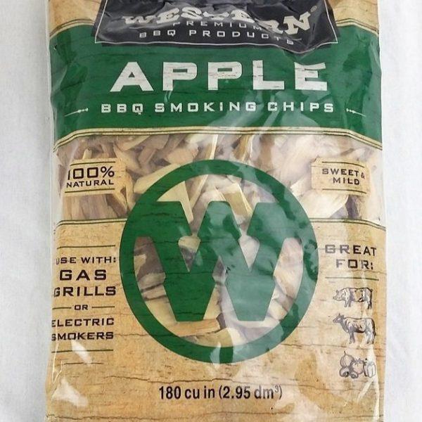 Apple Wood Smoking Chips Western Premium Woods