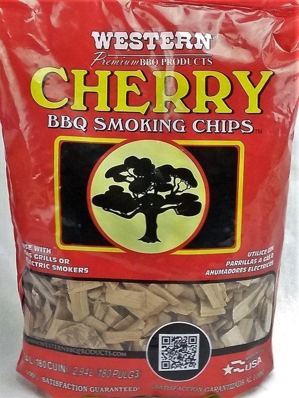 Cherry Wood Smoking Chips Western Premium Woods
