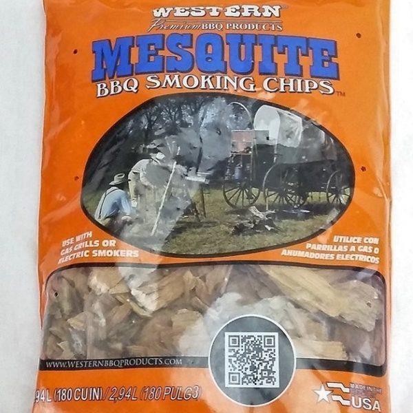 Mesquite Wood Smoking Chips Western Premium Woods