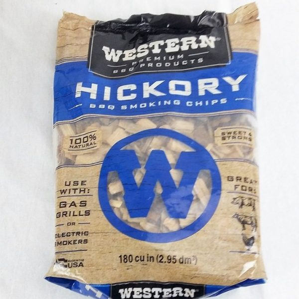 Hickory Wood Smoking Chips Western Premium Woods