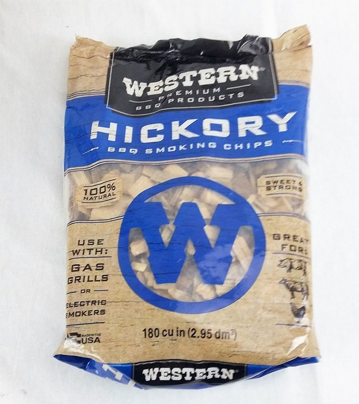 Hickory Wood Smoking Chips Western Premium Woods