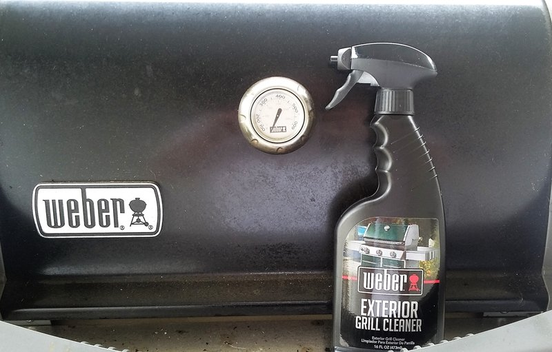 Weber Exterior Grill Cleaner Review