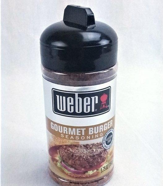 Weber gourmet burger seasoning