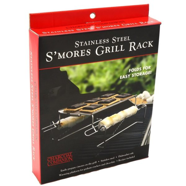 S'mores Grilling Rack Stainless Steel Charcoal Companion