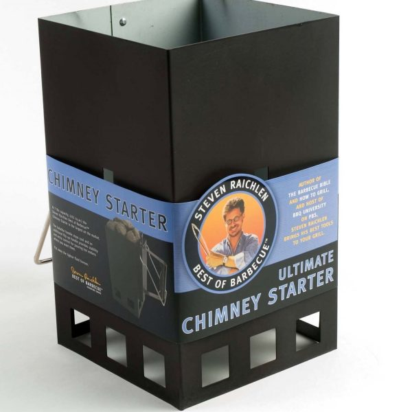 Large Capacity Charcoal Chimney Starter Steven Raichlen