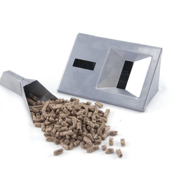 V Shaped Smoker Box Short with Pellet Tube