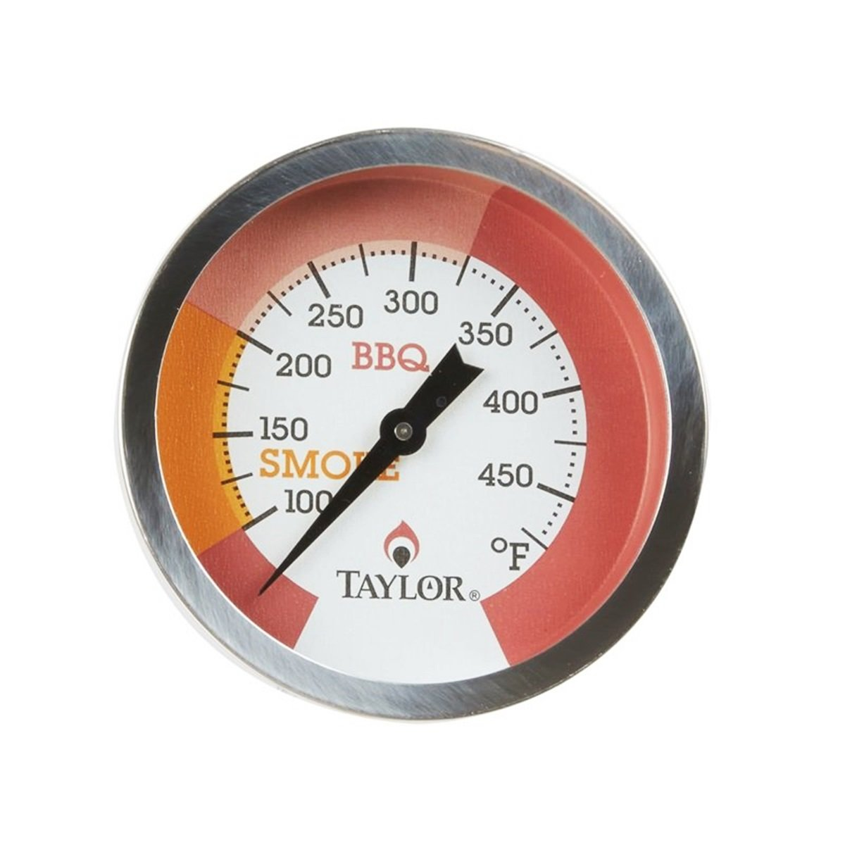 Taylor 814GW Barbecue Pit Thermometer Glow Dial main