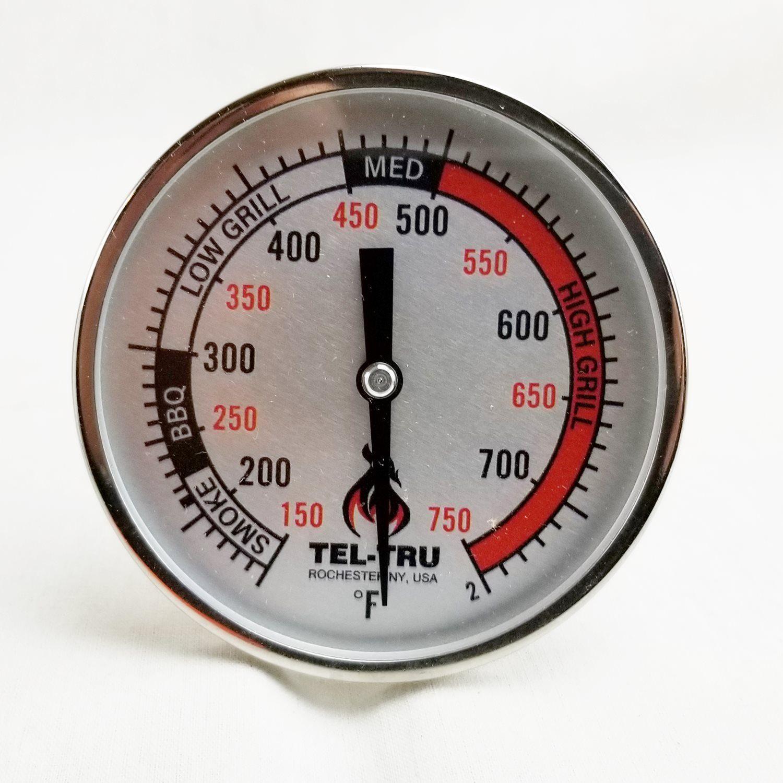 Tel-Tru BQ325R BGE Komodo Style Replacement Thermometer
