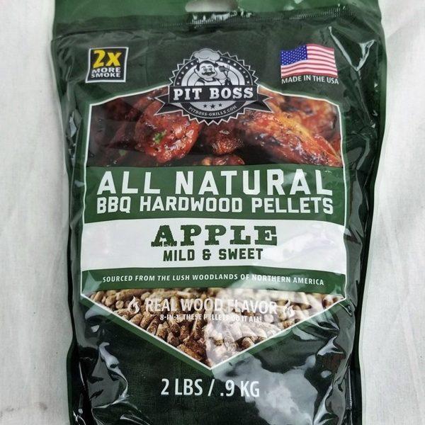 Apple Wood Pellets Pit Boss package