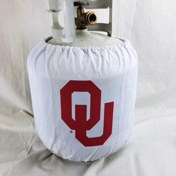 Oklahoma Sooners 20 Lb. Propane Tank Cover