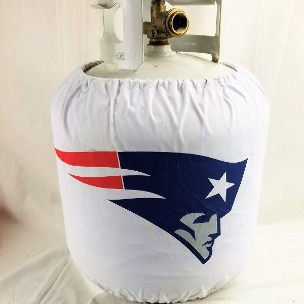 New England Patriots 20 Lb. Propane Tank Cover