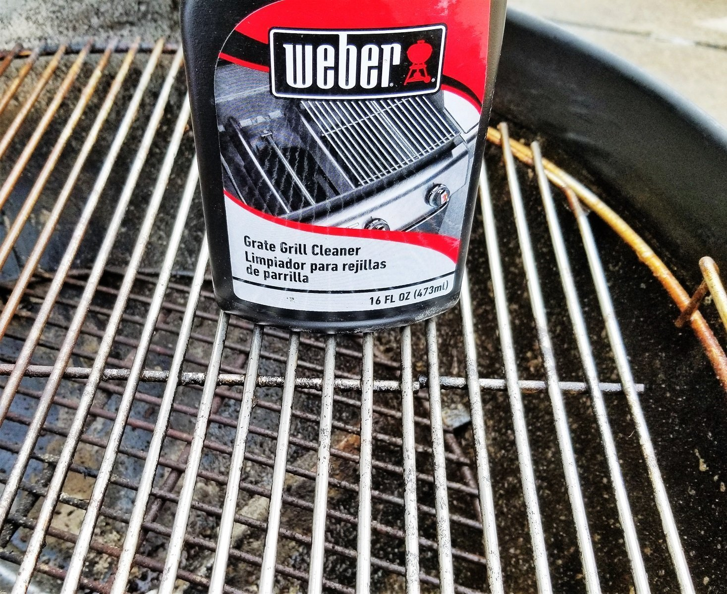 Weber grill grate cleaner review cover