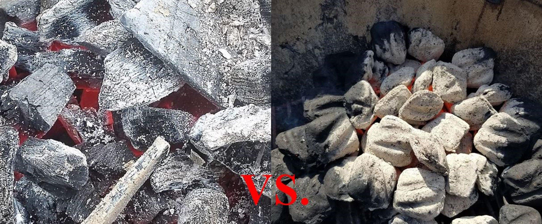 Choose Your Charcoal Briquettes vs Lump