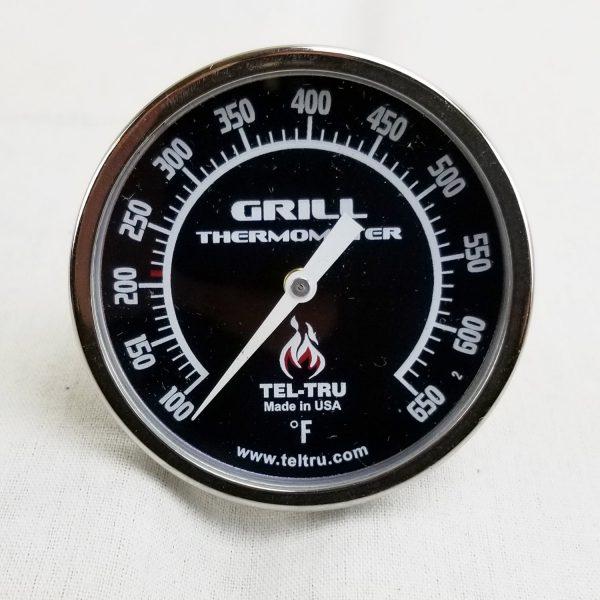 Black Dial Grill Hood Thermometer Tel-Tru BQ225